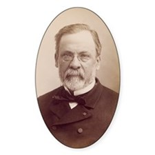 Louis Pasteur, French microbiologis Decal