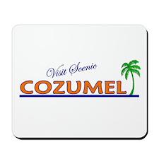 Visit Scenic Cozumel, Mexico Mousepad