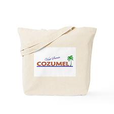 Visit Scenic Cozumel, Mexico Tote Bag