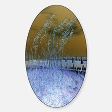 Blue Sea Oats Decal