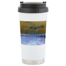 Blue Sea Oats Travel Mug