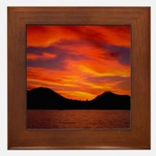 Cabo Sunset Framed Tile