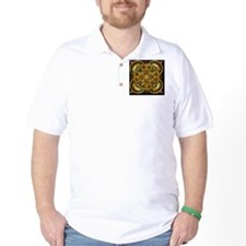 Yellow Celtic Tapestry T-Shirt