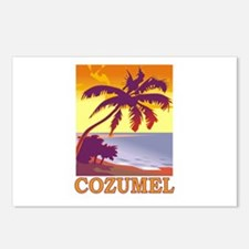 Cozumel, Mexico Postcards (Package of 8)