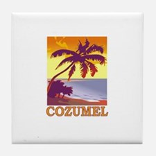 Cozumel, Mexico Tile Coaster