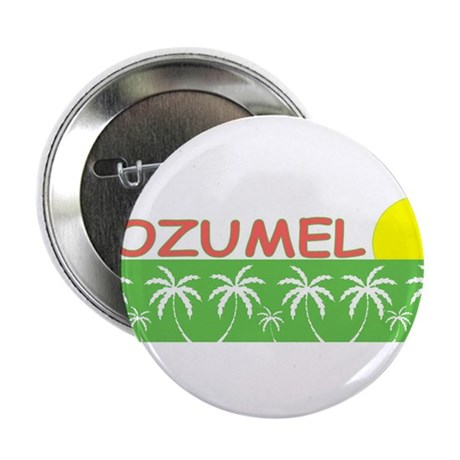 """Cozumel, Mexico 2.25"""" Button (10 pack)"""