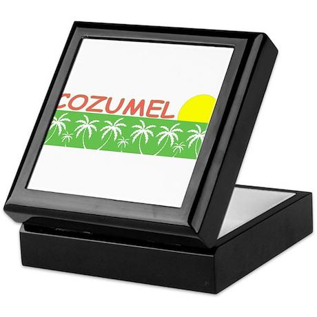 Cozumel, Mexico Keepsake Box