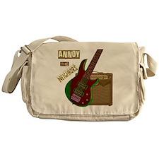 Electric Guitar Messenger Bag