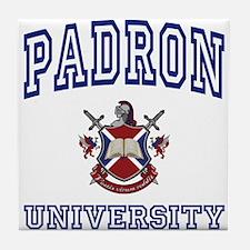 PADRON University Tile Coaster