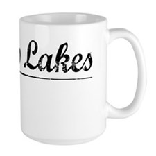 Hilltop Lakes, Vintage Mug