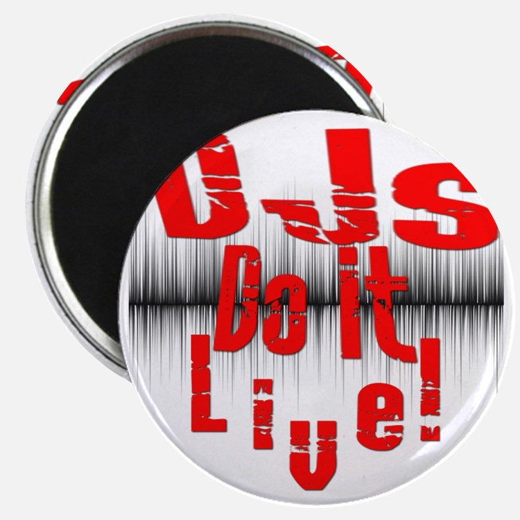 djs do it live!!!! Magnet