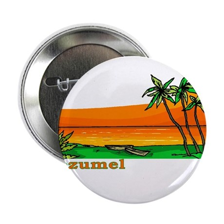 "Cozumel, Mexico 2.25"" Button (100 pack)"