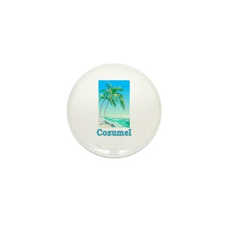 Cozumel, Mexico Mini Button (10 pack)