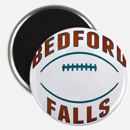 Bedford Falls Football Magnet