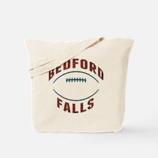 Bedford Falls Football Tote Bag