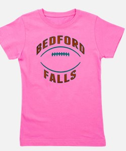Bedford Falls Football Girl's Tee