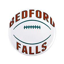 "Bedford Falls Football 3.5"" Button"