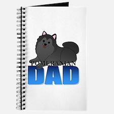 Black Pomeranian Dad Journal