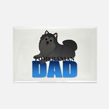 Pomeranian Dad Rectangle Magnet (10 pack)