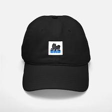 Black Pomeranian Dad Baseball Hat