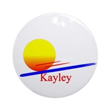 Kayley Ornament (Round)