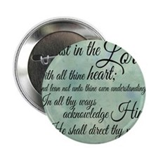 """Trust  in the Lord 2.25"""" Button"""