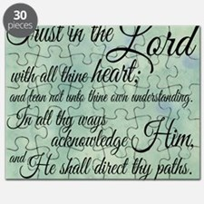 Trust  in the Lord Puzzle
