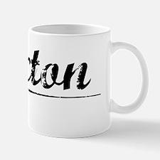 Hixton, Vintage Mug