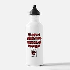 Zombie Shirt Water Bottle