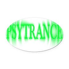 PsyTrance Blast Oval Car Magnet
