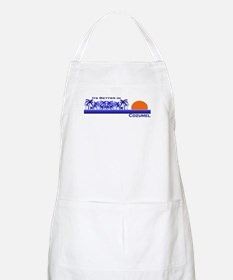 Its Better in Cozumel, Mexico BBQ Apron