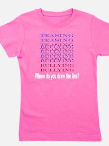 Teasing=Bullying (Dark) Girl's Tee