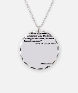 Out of Touch Mitt Necklace