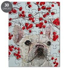 Journal French Bulldog Puzzle