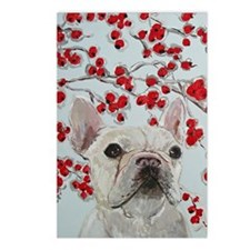 Journal French Bulldog Postcards (Package of 8)