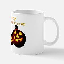 happy halloween pumpkins skull jack o l Mug