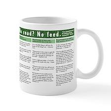 no Bible no breakfast Mug