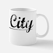 King City, Vintage Mug