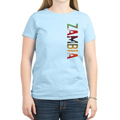 Zambia Women's Light T-Shirt