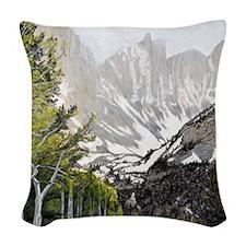 Great Basin National Park Woven Throw Pillow