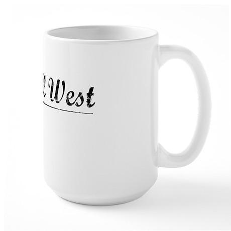 Kendall West, Vintage Large Mug