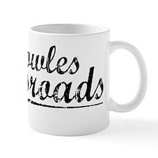 Knowles Crossroads, Vintage Mug