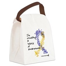 World of Down Syndrome Awareness  Canvas Lunch Bag