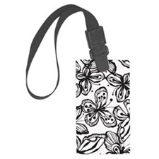 BWButterfly_BW_Large Luggage Tag