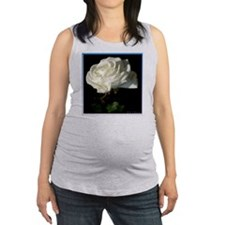 Rose! White rose photo! Maternity Tank Top