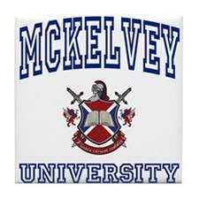 MCKELVEY University Tile Coaster