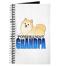 Cream Pomeranian Grandpa Journal