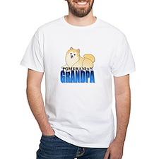 Cream Pomeranian Grandpa Shirt