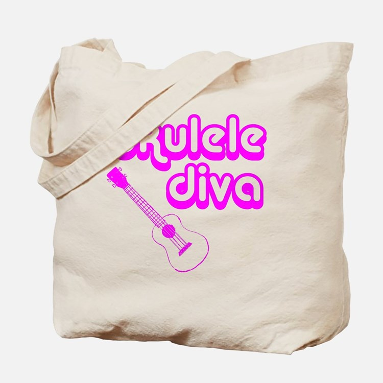 Ukulele Diva Tote Bag
