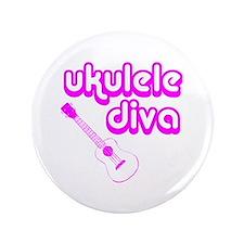 """Ukulele Diva 3.5"""" Button"""